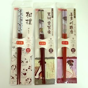 His and Hers Chopstick Set, and Sumo Japan design